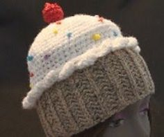 Ravelry: How to Crochet a CupCake Hat free pattern by Teresa Richardson - I've made a lot of these; work up fast and come out adorable & yummy!!!
