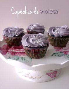 Cupcakes de violeta