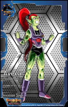 Full Power Hera-jin Avera (Invasion Saga) by MAD-54.deviantart.com on @DeviantArt