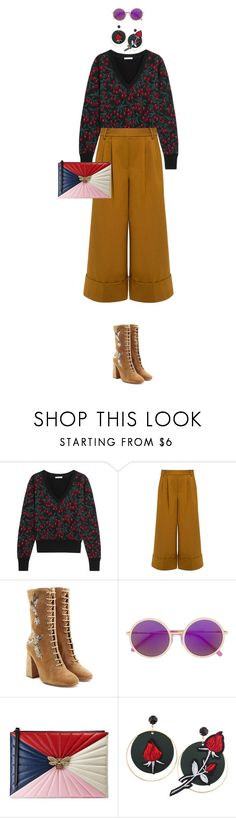 """""""eva0629"""" by evava-c on Polyvore featuring Chloé, TIBI, RED Valentino, Irresistor and Gucci"""