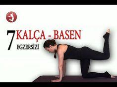 Evde Spor Yap / Kalça ve Basenleriniz İçin 7 Pilates Egzersizi / Evde Pilates Yap - YouTube