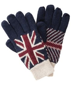 Union Jack Clothing And Accessories | ... Gloves | Preppy Union Jack Glove | Gifts & Accessories at Joe Browns