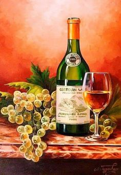 View album on Yandex. Wine Painting, Fruit Painting, Wine Glass Drawing, Wine Photography, Wine Signs, Wine Decor, Wine Art, Pastel Art, Vintage Christmas Cards