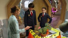 Tune-in to #OddSquad on @PBSKids today to see Olive and Otto solve the mystery of the Odd Antidote!