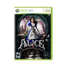 Alice: Madness Returns for Xbox 360 - EA ❤ liked on Polyvore featuring games, video games, electronics, other and random
