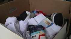 CLEVELAND – Several local organizations are lending a hand to help the area's homeless. On Wednesday, the Ohio Coalition for the Homelessreceived the biggest sock donation ever. It was…