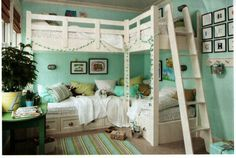 Built in bunk beds... this is awesome.