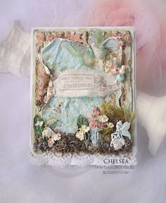 Crafting Life's Pieces: Make every day extraordinary - Garden scene card
