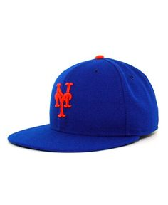e5d0524c2c7 New Era New York Mets MLB Authentic Collection 59FIFTY Fitted Cap Men -  Sports Fan Shop By Lids - Macy s
