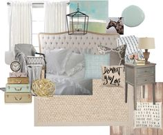 Serene Bedroom Decorating Ideas - Perfectly Imperfect - love the colour choices Serene Bedroom, Beautiful Bedrooms, Dream Bedroom, Bedroom Layouts, Bedroom Styles, Furniture Inspiration, Room Inspiration, Home Projects, Home Remodeling