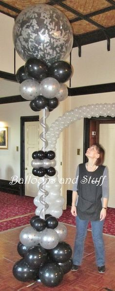 Exploding Balloon Floor Standing Decoration