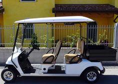 Un golf car bellissimo e così utile per il trasporto di quattro persone più i loro bagagli. Per rendere ogni lavoro più semplice ed ogni giornata più piacevole. Scopri tutte le specifiche tecniche su www.golfcar.it sezione trasporto persone e puoi chiamarci se desideri qualche ulteriore informazione.