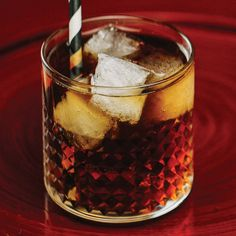 Mind Eraser-- 2 oz Coffee liqueur 2 oz Vodka 2 oz Club soda  Glass: Rocks Pour the coffee liqueur and vodka over ice, fill with club soda and serve with a straw.