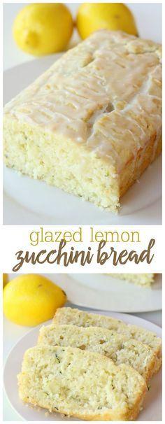 Delicious Glazed Lemon Zucchini Bread - this recipe is amazing. So soft and so flavorful!! Get the recipe on { lilluna.com }