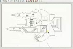 Draw 90 OA (Origamic Architecture) castle pattern in sketchup - AOC ...