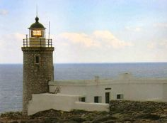 A historical stone-built lighthouse which was built in 1914!