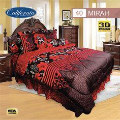 Sprei Set (King 180×200) motif Mirah Premium Lembut. Takut tidak sesuai Ukuran (kekecilan/kebesaran) ??? Kami beri garansi 30 Hari. Comforters, King, Blanket, Bed, Home, Creature Comforts, Quilts, Stream Bed, Rug