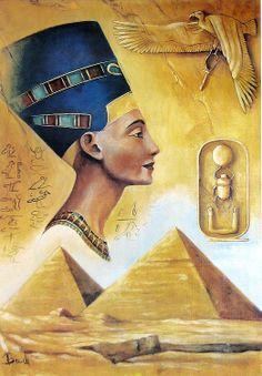 Nefertiti Egyptian queen