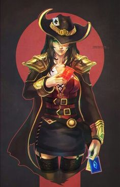 Twisted Fate Genderbend