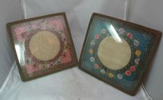 Two Antique Braid & Ribbon Work Photograph Frames x Passementerie, Ribbon Work, Braid, Frames, 21st, Photograph, Antiques, Inspiration, Ebay