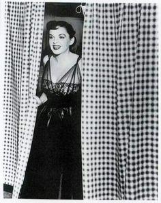 Judy, 1952. Love that dress!