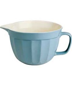 Lovely big mixing jug.