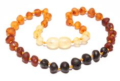 Genuine Raw Baltic Amber Baby Teething Necklace by BLTAmber, $8.99