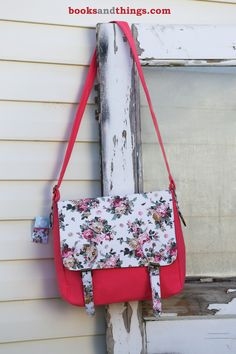 Missionary Tote - Sister Messenger Bag (Pretty in Pink Floral). Buy: http://4rt.cc/YXGMih Your sister missionary can combine style with necessity to make sure she has everything she needs close by. Choose from any of our three designs!