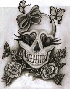 Design For Ugly Skull Cover By Crazy Tatts Designs Interfaces Tattoo Skull Candy Tattoo, Girly Skull Tattoos, Mexican Skull Tattoos, Skull Girl Tattoo, Sugar Skull Tattoos, 1 Tattoo, Skull Tattoo Design, Candy Skulls, Mexican Skulls