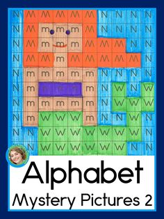 Just right for preschool and kindergarten students who are working on letter learning: a mystery picture for every letter of the alphabet set 2!  Your children will color by letter to reveal the hidden pictures, which correspond to the letters they're practicing.  Visually similar letters are practiced together so students focus on the print.  This is a fun way to practice letter recognition and initial sounds while also strengthening hand muscles through coloring. Ready to print and go! TpT… Free Preschool, Toddler Preschool, Early Elementary Resources, Kindergarten Reading Activities, Initial Sounds, Teaching Letters, Hidden Pictures, Reading Intervention, Letter Recognition