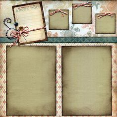 KTK FEB 2012 Page-A | Scrapbook Page Layout from the My Mind… | Flickr