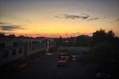 Nach dem Sonnenaufgang jetzt der Sonnenuntergang in #aachen #Feuerwehr_Aachen #sky #sonne #sun #sonnenuntergang