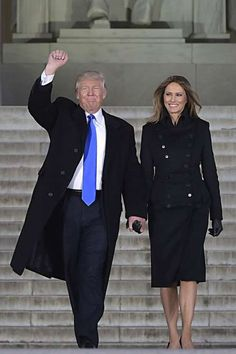 d5bbb168827 Melania Trump s Inauguration Outfits - and the Story Behind Them