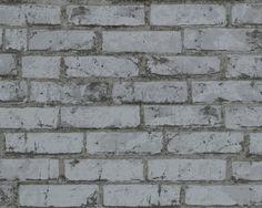 Steintapete von A.S. Création ,Tapete 907820 #black #and #white #schwarz #weiß #tapete #ascreation #living #interior #steine