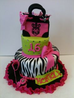 Little Diva Juicy inspired cake from Cake Creations.us