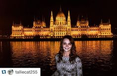 #Repost @talliecat255 Budapest is the first city I've ever been to that rivals the beauty of Paris at night  #budapest #boatcruise #beautiful #nighttime #citylights #hungary #studyabroad #ispyapi #fallbreak2015