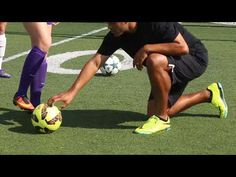 Improve your soccer dribbling skills and knowledge to handle the ball many ways. 5 different TIPS to take your soccer IQ & game to a new level. Soccer Training Program, Football Training Drills, Football Workouts, Soccer Coaching, Training Programs, Defensive Soccer Drills, Soccer Footwork Drills, Football Drills For Kids, Soccer Skills