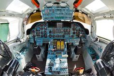cockpit in the Tu-160 (White Swan)