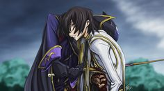 Code Geass.  True friends stab you in the front.