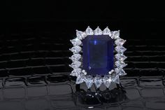 This #stunning #DiosabyDarshanDave #cocktail #ring will make you feel like a princess! It presents a large, rectangular blue stylized stone in the center, surrounded by pear and marquise-shaped #SwarovskiZirconia meticulously set in #SterlingSilver. Ideal for travel and destination weddings! Available on www.diosajewels.com #makeeverydaybrilliant #jewellery #finejewellery #traveljewellery #weddings #fashionwear #preciousjewellery #luxejewellery  #dailywear #workwear #casualwear