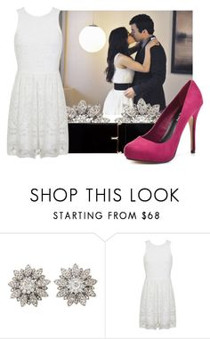 """Untitled #10076"" by pocahaunted666 ❤ liked on Polyvore featuring Yves Saint Laurent, Miss Selfridge and Michael Antonio"