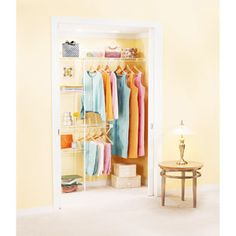 7. Rubbermaid Complete Closet Organizer - Keep everyone's clothes organized for Back-to-School! #momselect and #backtoschool