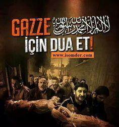 Gazze için dua et