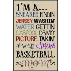 2832 * Basketball Mom Stencil  http://stencilmein.com/basketball-mom-stencil.html