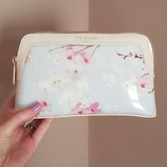 3e19ee152 Ted Baker make-up bag. It has been used hence the make up -