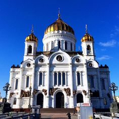 Cathedral of Christ The Saviour - Moscow