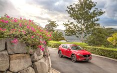 Download wallpapers Mazda CX-5, 4k, 2018 cars, crossovers, japanese cars, new CX-5, road, Mazda