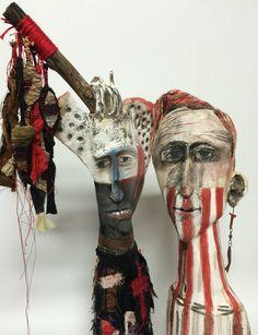 ceramic sculpture -detail - veronicacay