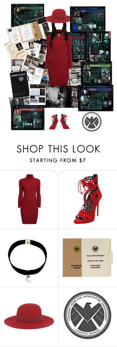 """""""Research and files."""" by bluestark ❤ liked on Polyvore featuring Rumour London, Giuseppe Zanotti and Manila Grace"""