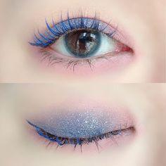 Korean Eye Makeup, Eye Makeup Art, Asian Makeup, Makeup Inspo, Eyeshadow Makeup, Makeup Inspiration, Beauty Makeup, Cute Makeup Looks, Makeup Looks Tutorial